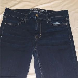 American Eagle Outfitters Jeans - AMERICAN EAGLE DARK JEGGING